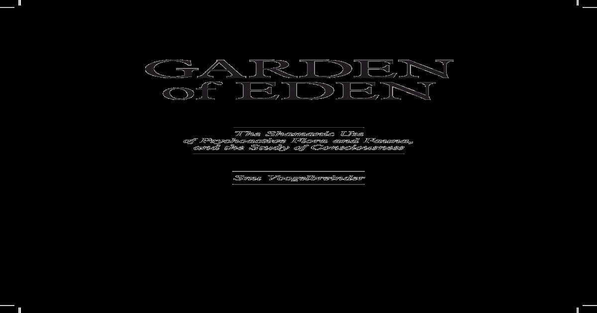 snu voogelbreinder - Garden of Eden