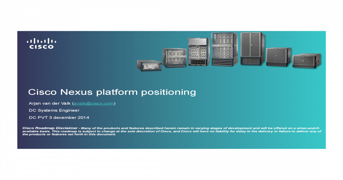 01 Nexus Platform Positioning PART 1