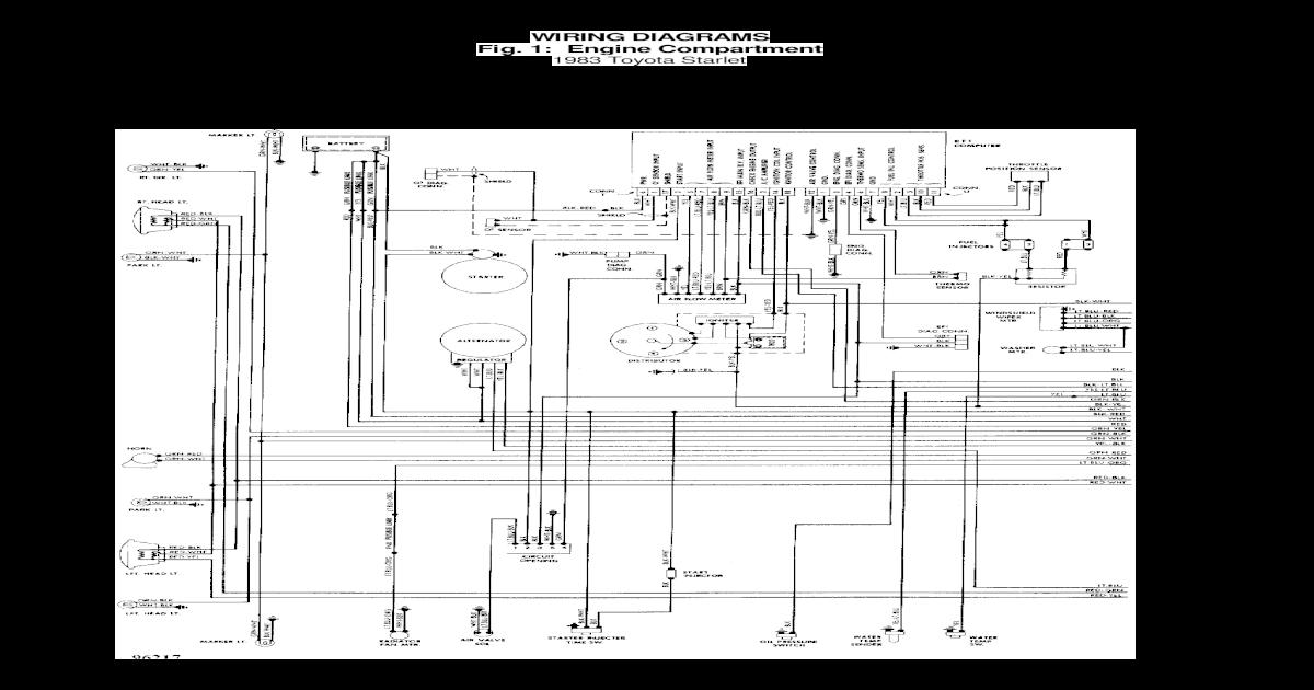 Toyota Starlet Diagram Elektrike on