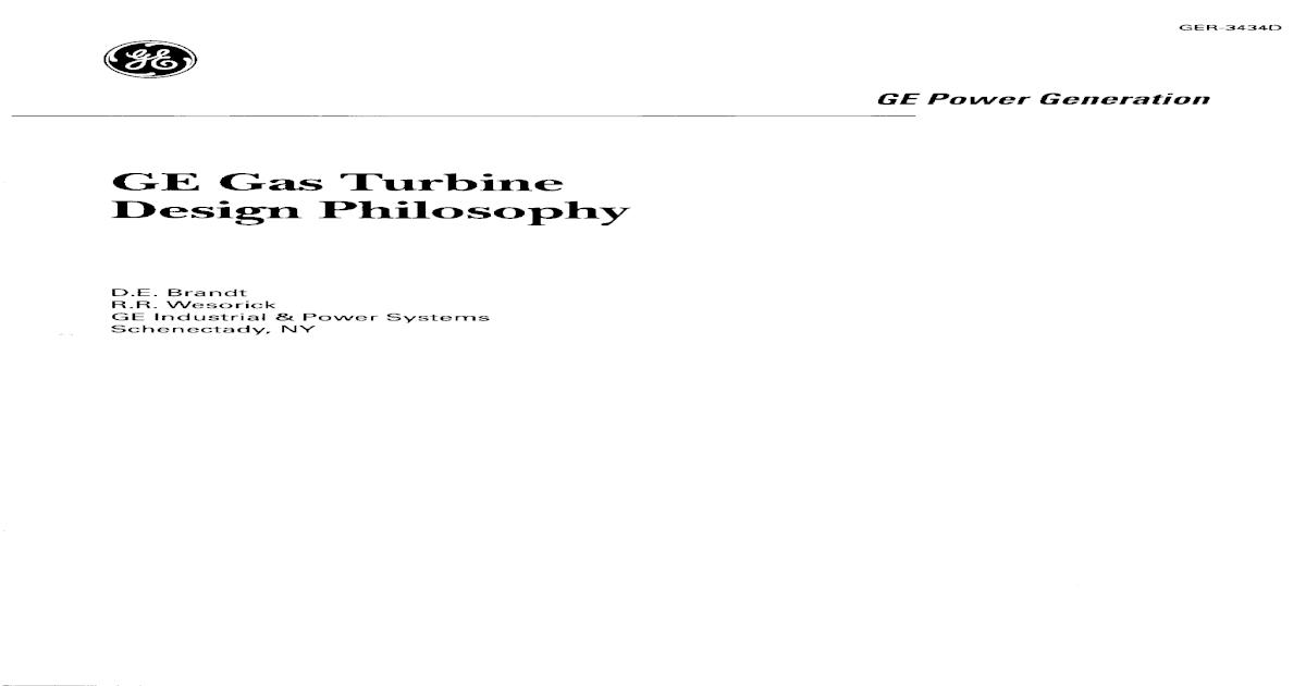 Gas Turbine Manual