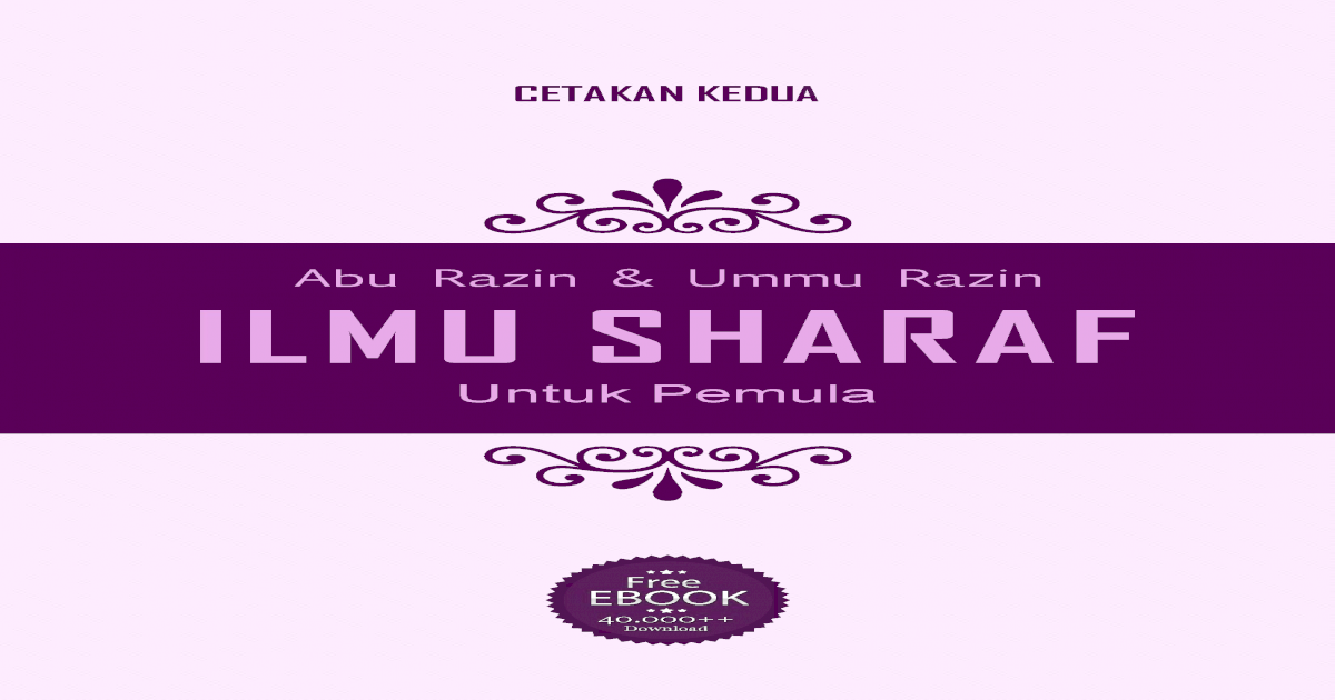 Ilmu download untuk ebook pemula sharaf