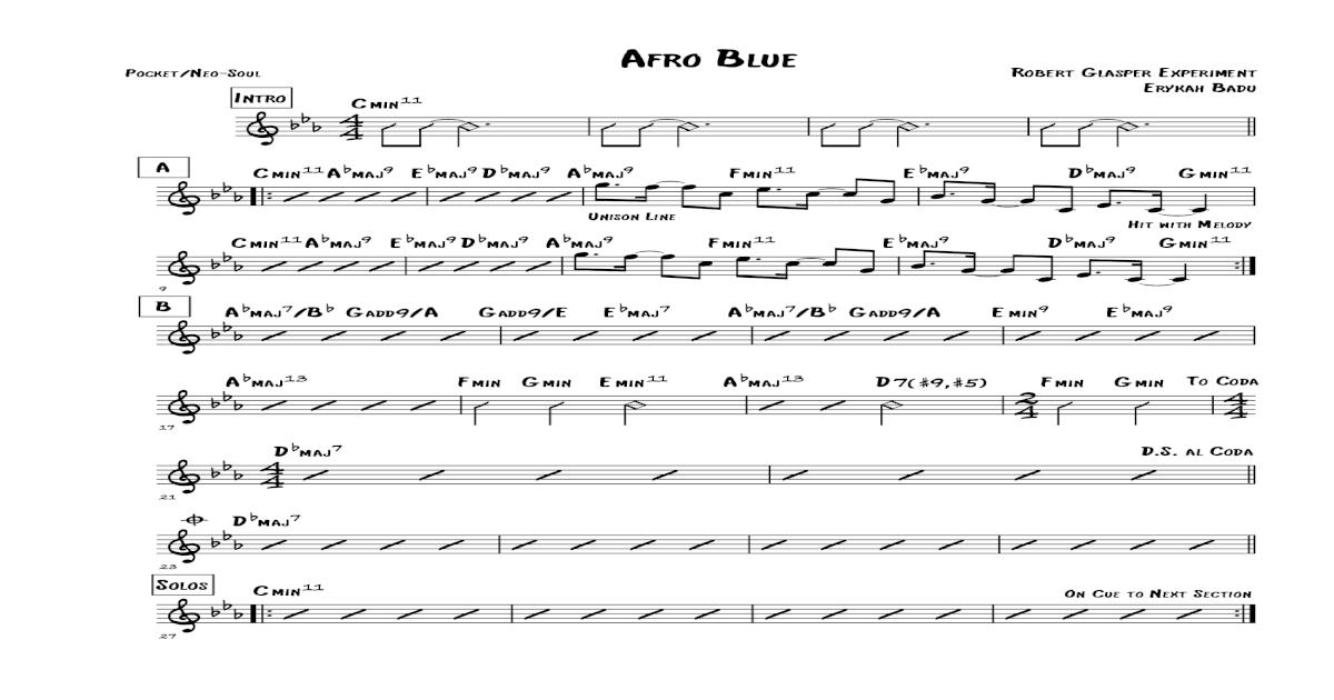 robert glasper afro blue download