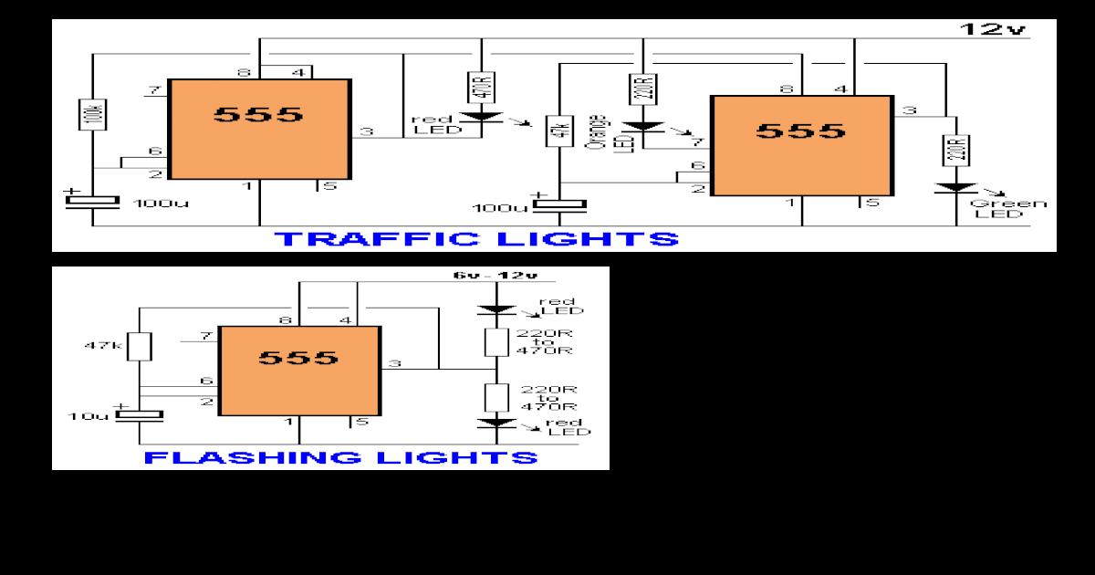 Rangkaian Ic 555 Dan Transistor