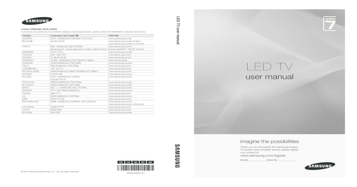 e874922ecc98 Manual TV Samsung