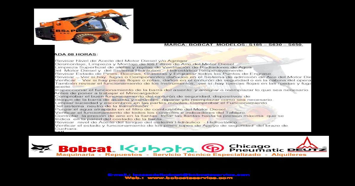 Bobcat S630h