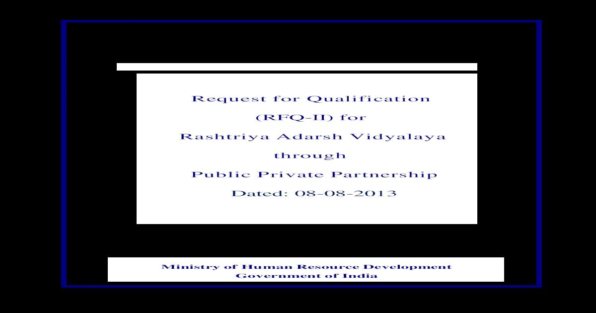 Final RFQ-II  pdf