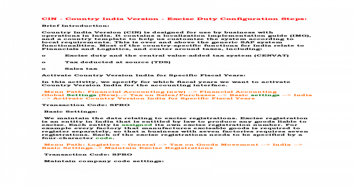 121779377 Sap Sd Cin Configuration Steps