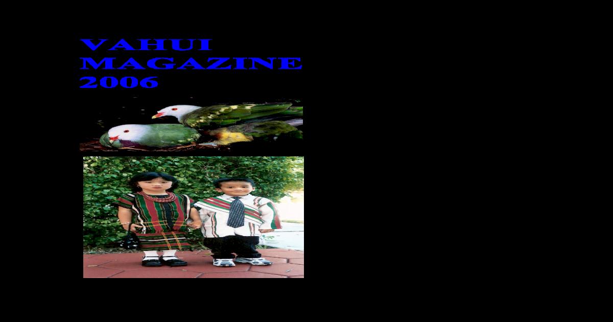Vahui Magazine 2006-A