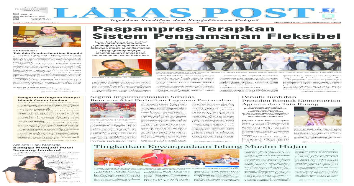 Laras POST 27 PDF Edisi Cetak