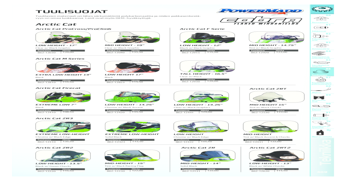 2-UP -339cc 2 Piston Ring Sets ARCTIC CAT PUMA DELUXE /'94-97 60.50MM