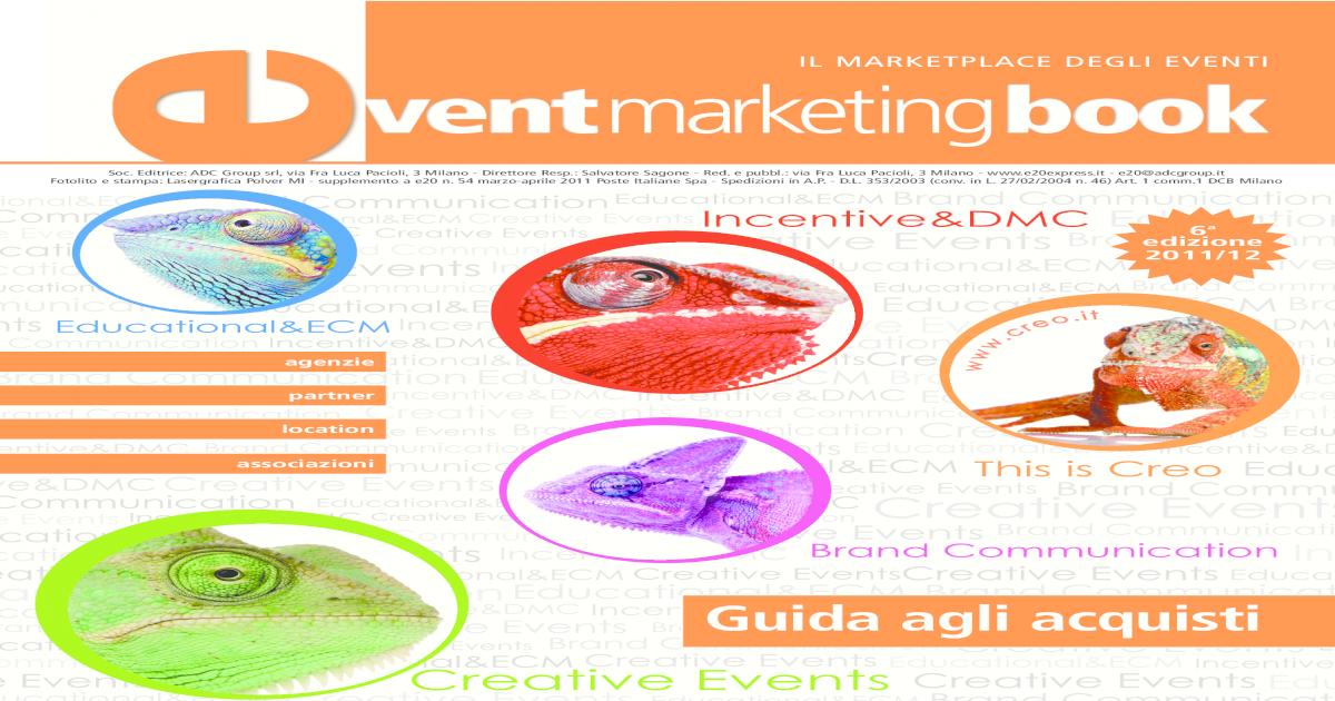 Event Marketing Book 2011
