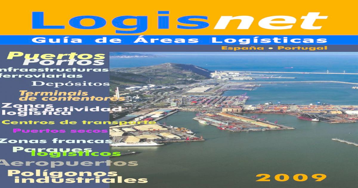 Guia Logisnet 2009 Reas Logsticas