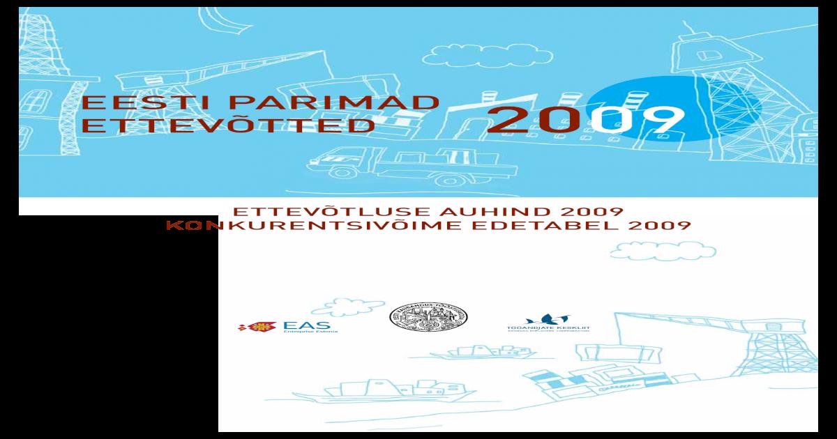 6688ab81d3d Eesti Parimad Ettevtted 2009