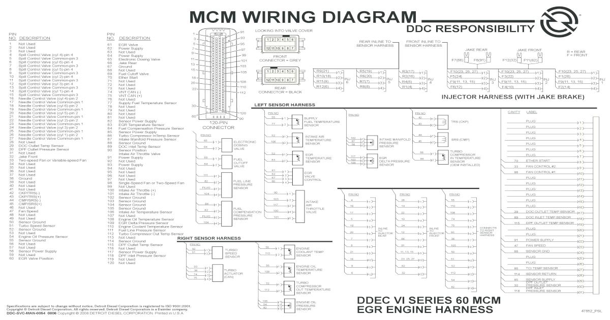 Ddec Ii Wiring Diagram - Somurich.com Ddec Wiring Diagram Pdf on
