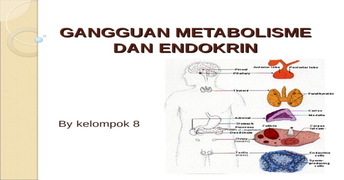 Gangguan Metabolisme Dan Endokrin Ppt