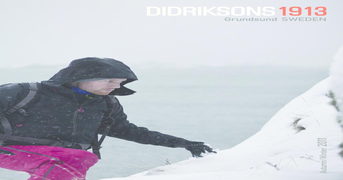 12b6eb912 Didriksons catalog 2011aw
