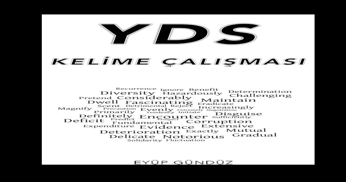 Yds Kelme Alimasi Verbs Test 1 Blm 7 Word Cloze Yds