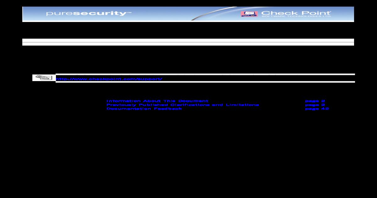Checkpoint Vsx Commands