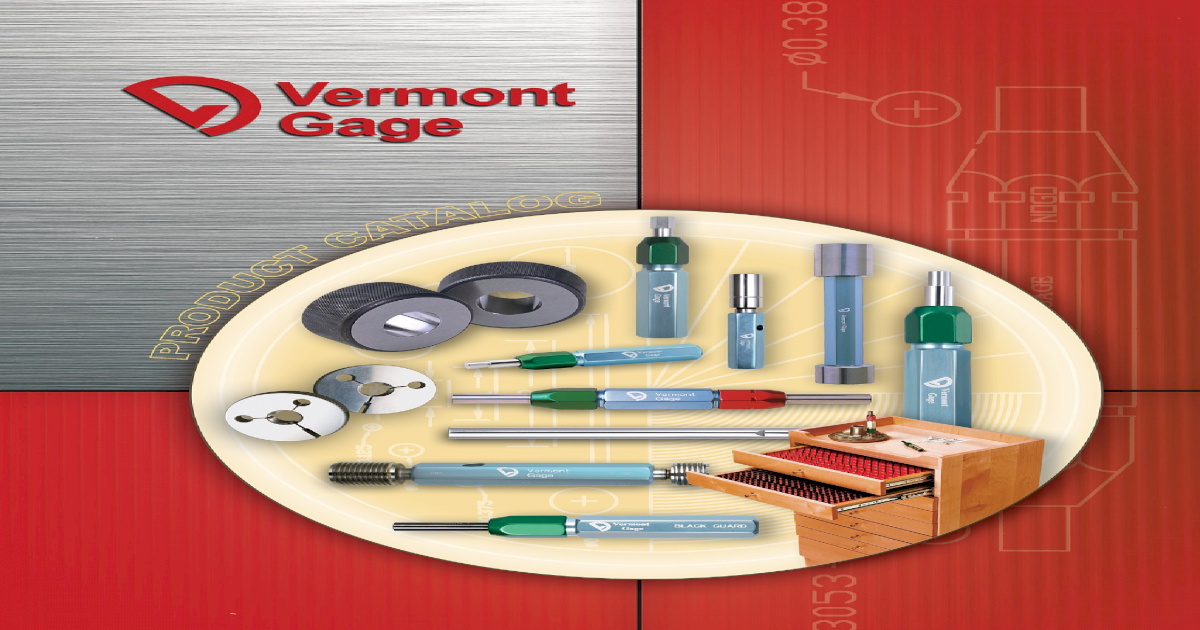 Vermont Gage 311117540 #8-32 UNC 2B Go And No-Go Reversible Gage Assembly