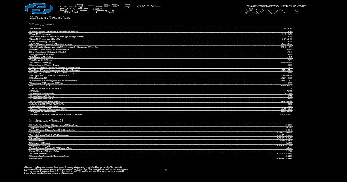 SAAB 9-3 1.8 1.9TID 2.0T 2.2TID 2.3T 2.8T OUTER TRACK ROD END NEW  RH