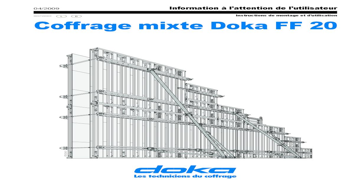 Coffrage Mixte Doka Ff 20