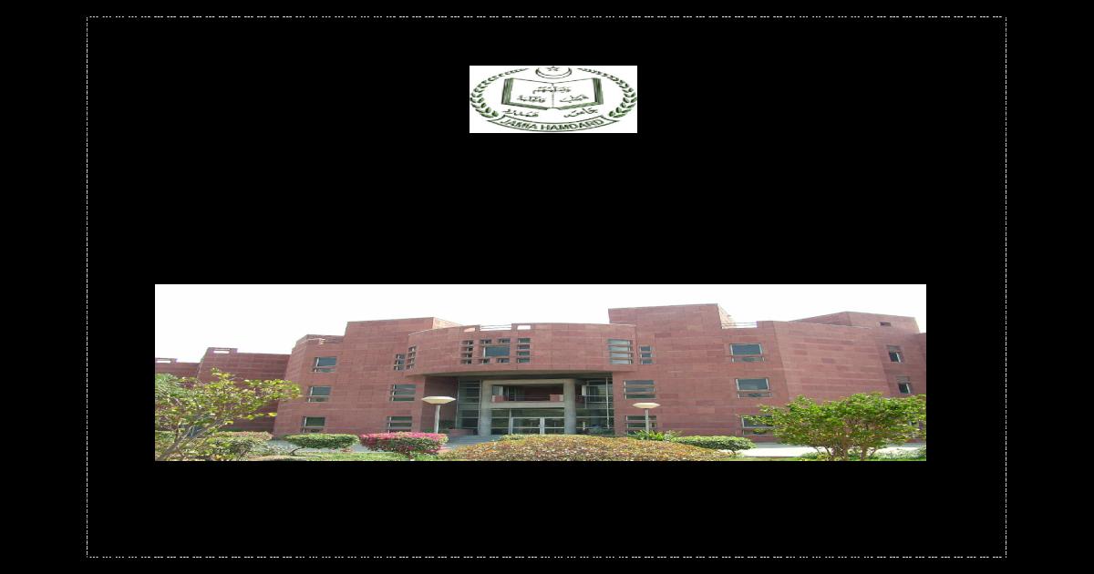 jamia hamdard prospectus 2014-15