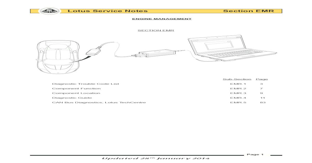 Lotus Service Notes Section diagnostics   Lotus Service