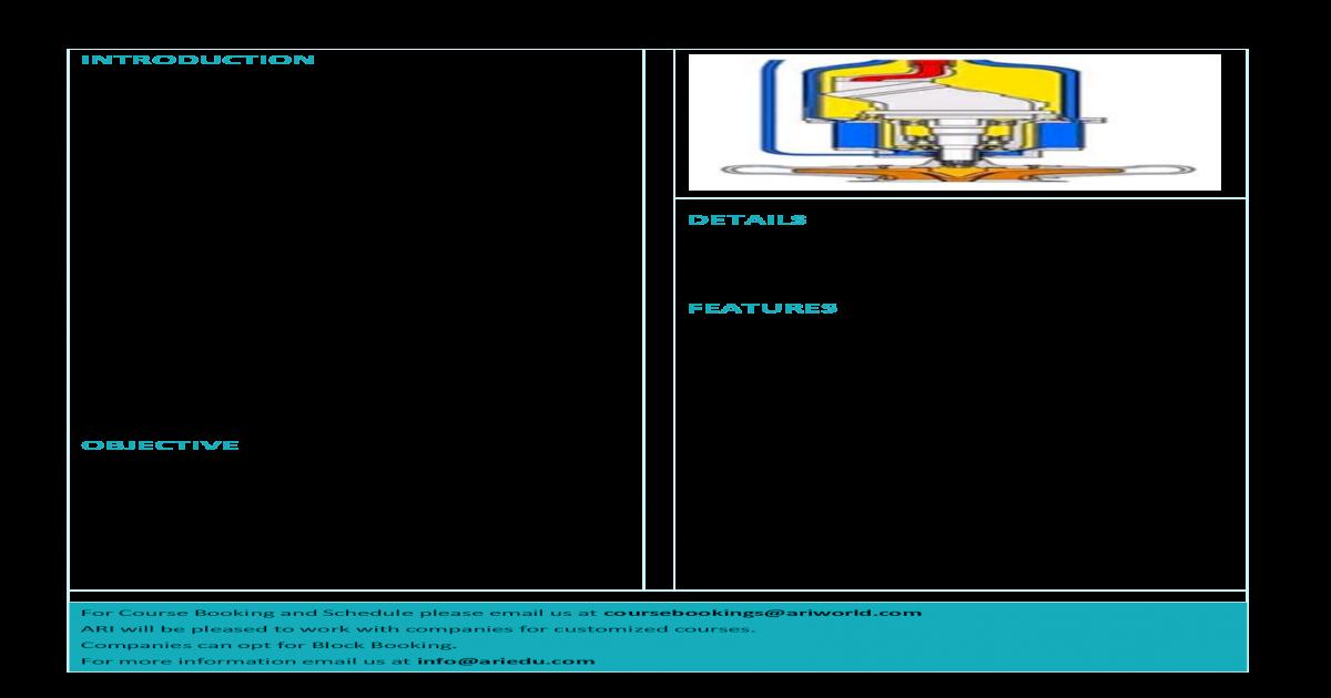 FRAMO COURSE - COURSE INTRODUCTION FRAMO cargo pumping