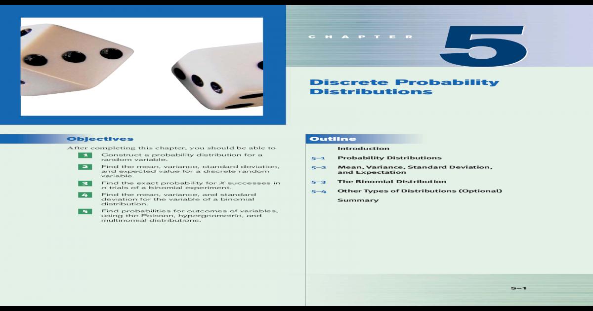 Discrete Probability Distributions - iheartmath2 - home
