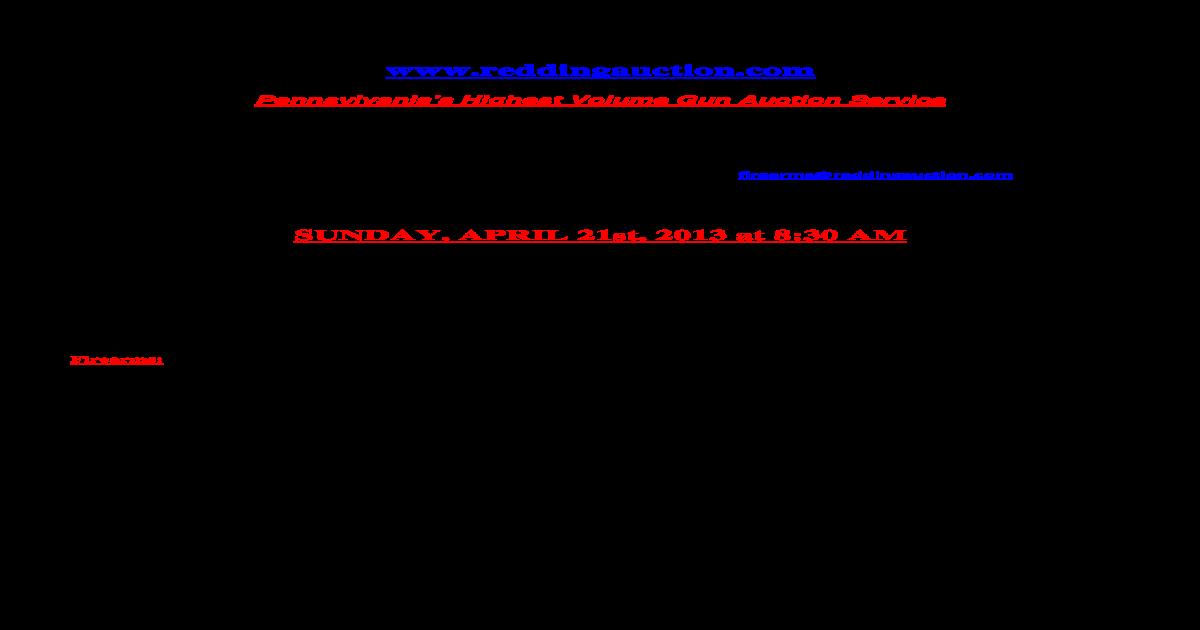 REDDING AUCTION SE   Mossberg Mod  46 22 Cal  Bolt Action