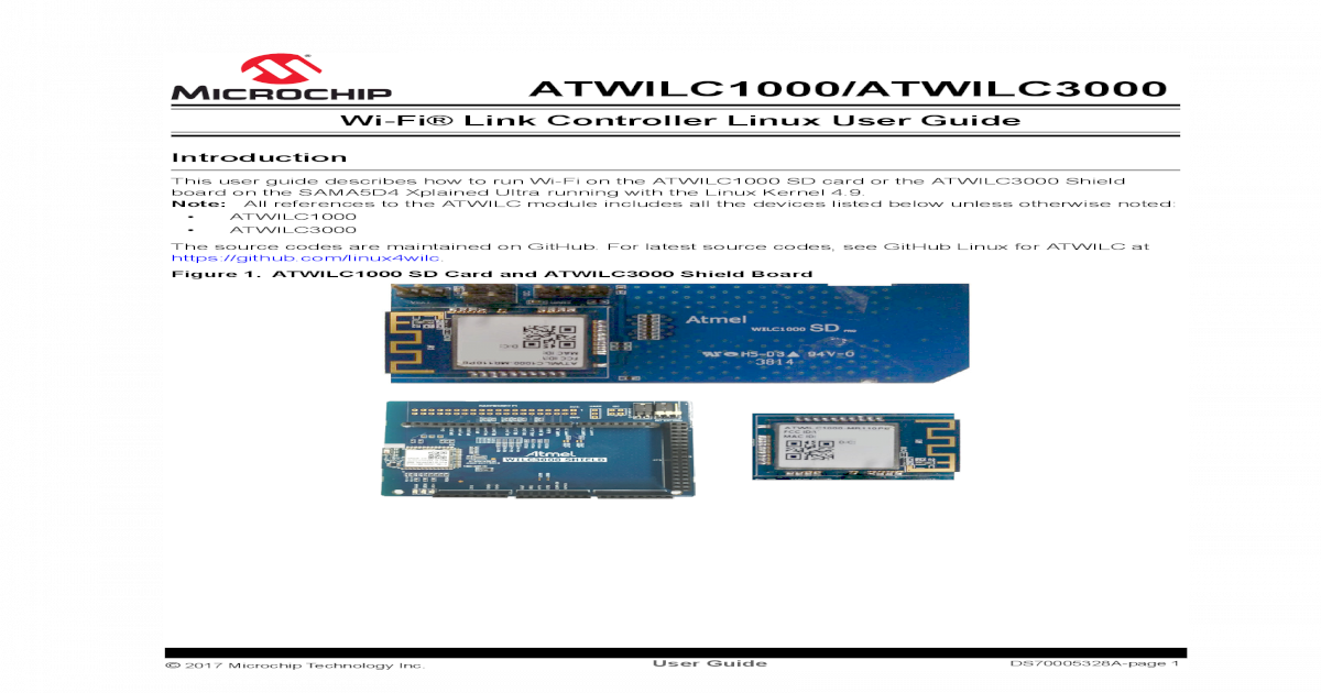 Wi-Fi Link Controller Linux User Wi-Fi Link Controller Linux User
