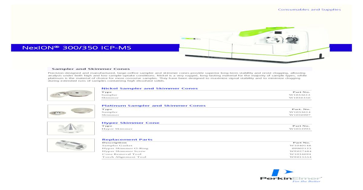 Manual de nexion icp-ms