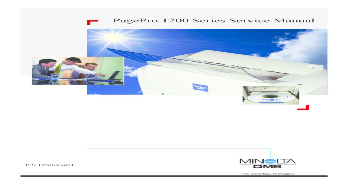 New Genuine Konica Minolta QMS pagepro 1250 1250w Fuser Unit