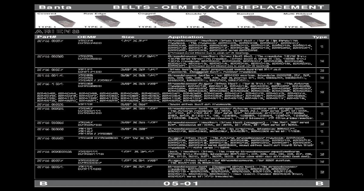 """Auger Belt fits Ariens snowblower 72047 07204700 Exact size 3//8/"""" x 35.5/"""""""