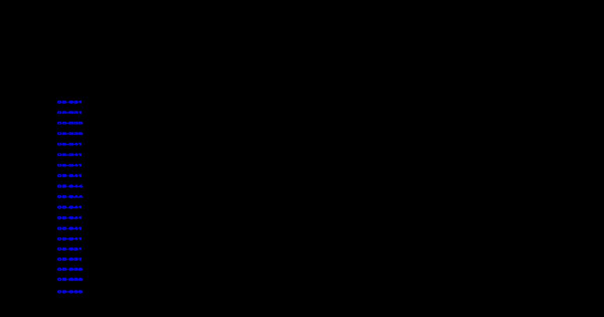 DIAGNOSTIC TROUBLE CODE CHART - Repair Manual/2003/2003