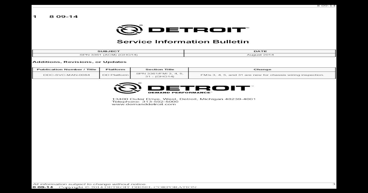SPN 3361 (ACM) (GHG14) - Freightliner - DDCSN the fault code