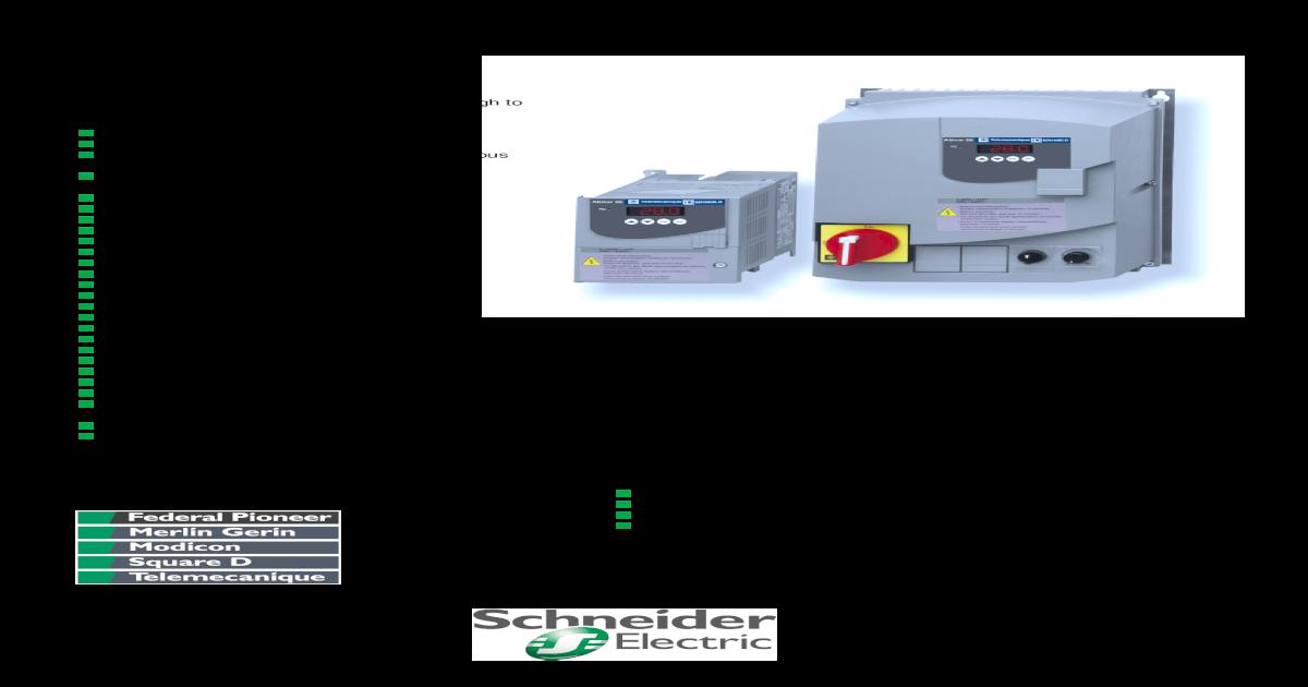 Altivar 28 AC Drive - sti  Sympact/ATV Schneider   Auto