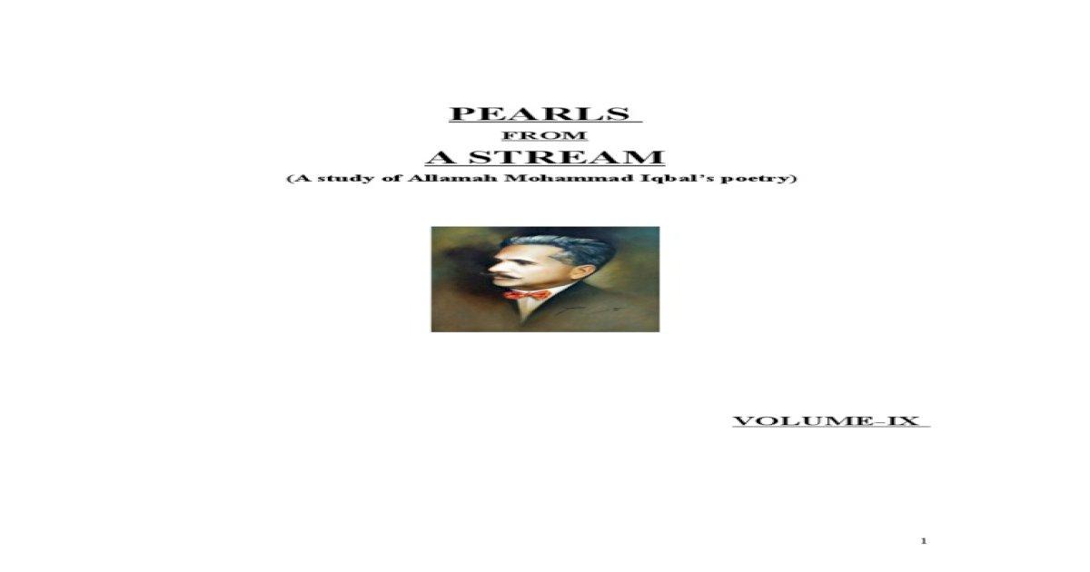 Pearls from    Vol-IX doc