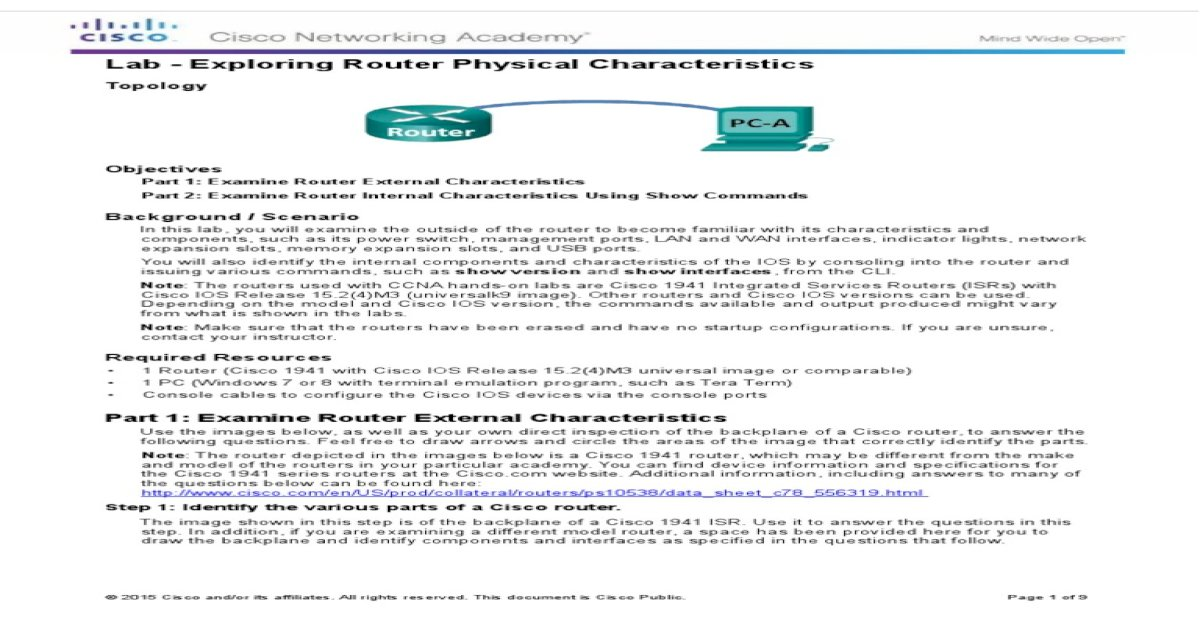 6 3 2 7 Lab - Exploring Router Physical Characteristics (1)