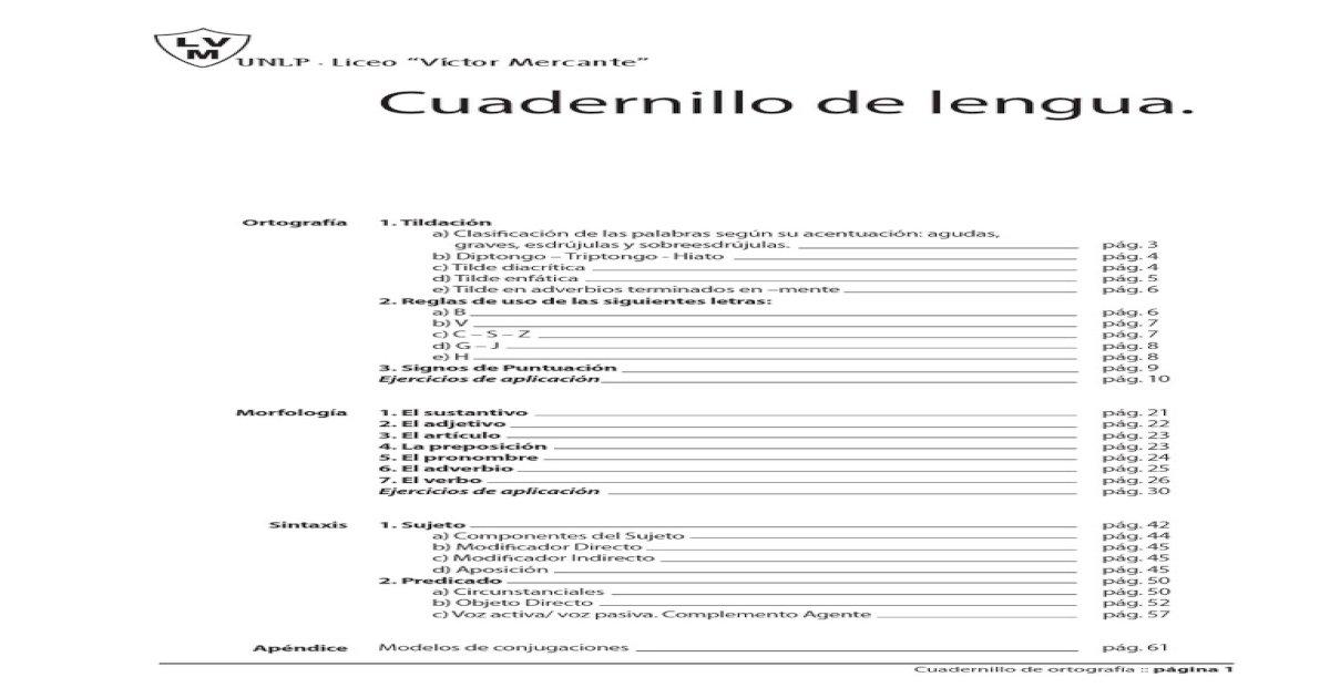 Ortografa Acentuacin Gramtica Dicrtica Puntuacin