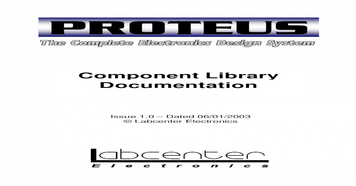 Connector Library For Proteus