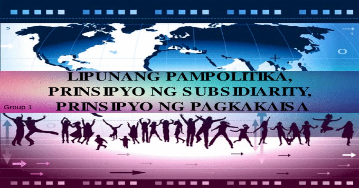 EsP Grade 9: Modyul 2- Lipunang Pampolitka