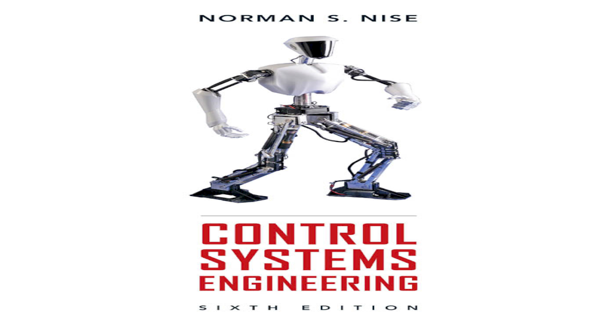 Nise control systems engineering 6th edition