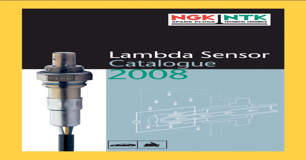 NEW in BOX! OZA488-AM1 NGK NTK LAMBDA SENSOR OXYGEN PROBE 0042