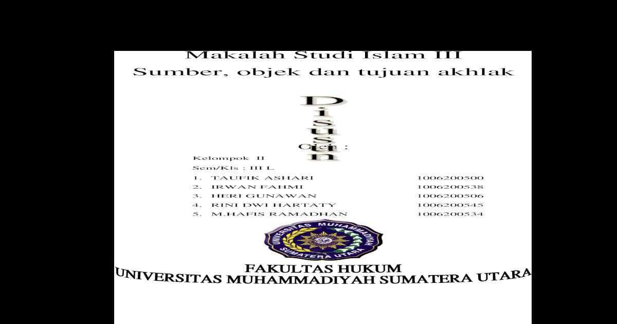 Sebutkan Dan Jelaskan Sumber Sumber Ajaran Tasawuf - Cara ...