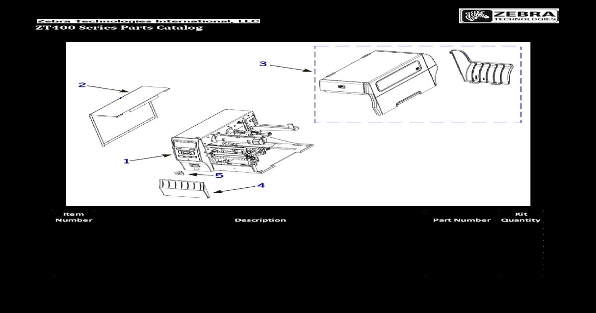 Zt400 Parts Catalog en Us