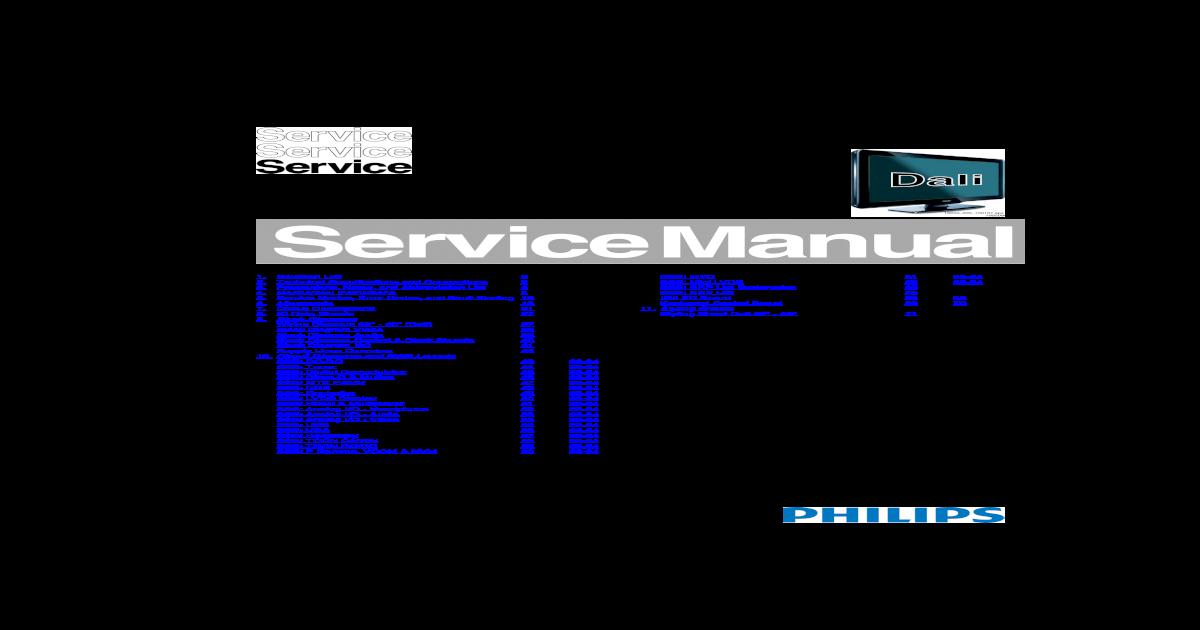 PHILIPS LCD Ch-10 1L LLA-32PFL3605D-40PFL3605D pdf