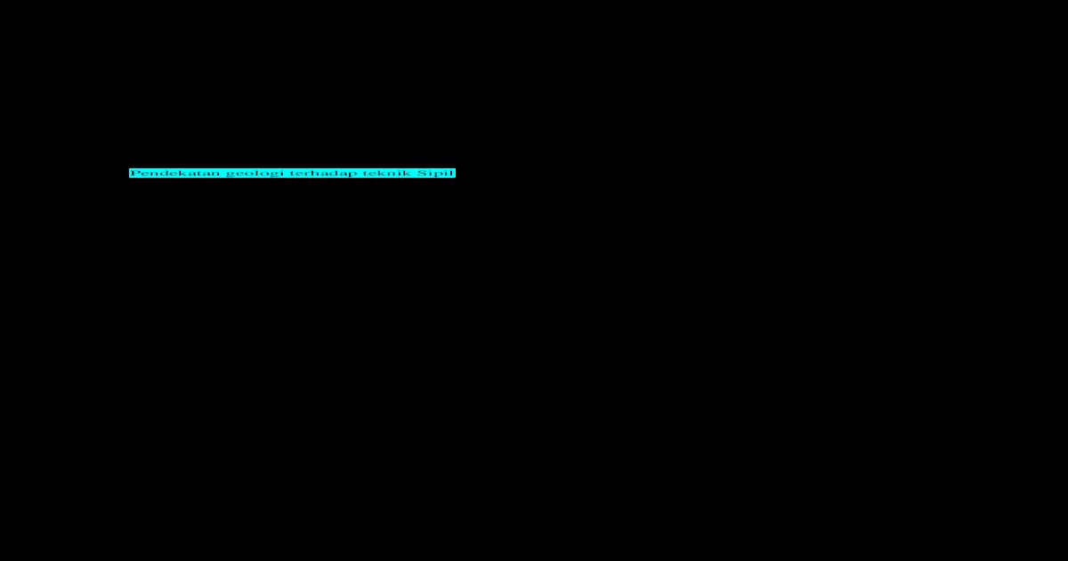 0  SILABUS GEOLOGI REKAYASA (2)