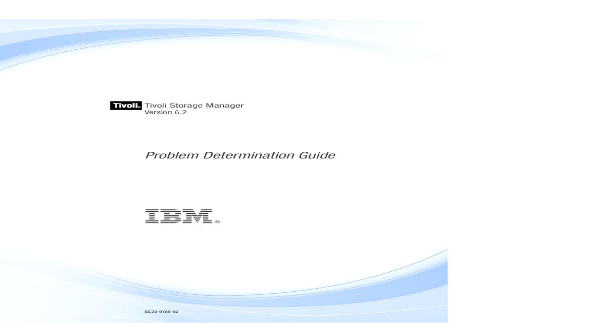 Problem Determination Guide