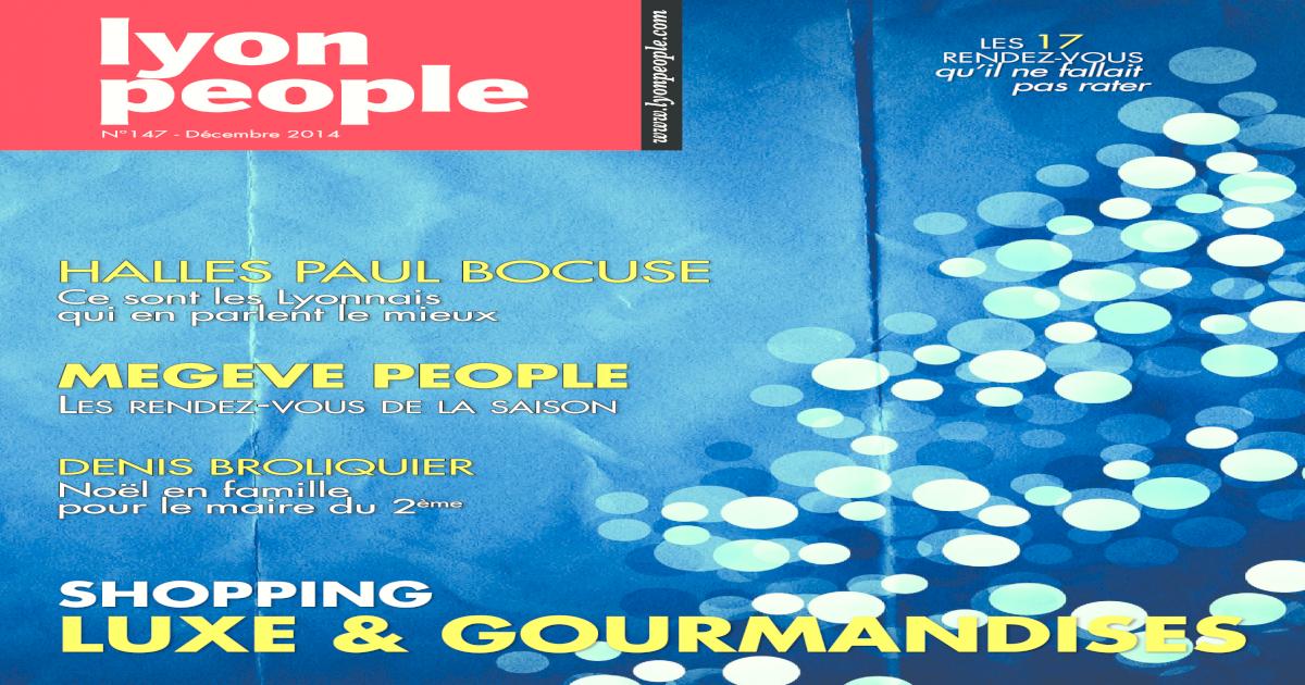 Lyon People Decembre 2014